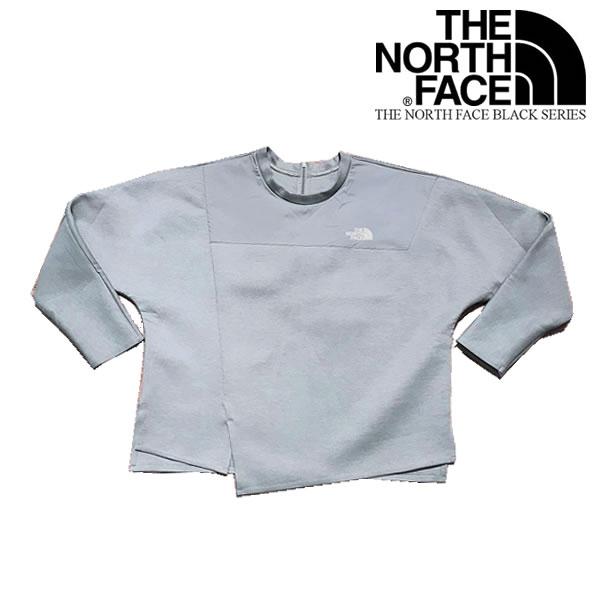 The North Face BLACK SERIES WOMENS BONDED FLEECE CREW /ノースフェイス ブラックシリーズ レディース バンデッド フリースシャツ【9147510636-grey】【選べる福袋対象商品A】
