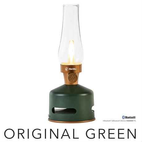 MoriMoriLEDランタンスピーカーORIGINAL GREEN (ダークグリーン色)FLS-1701-DG