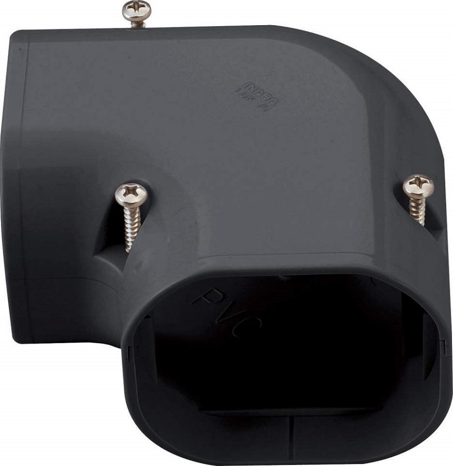 因幡電工LDダクト コーナー平面90゜ 90LDK-90-Kケース販売10個入り