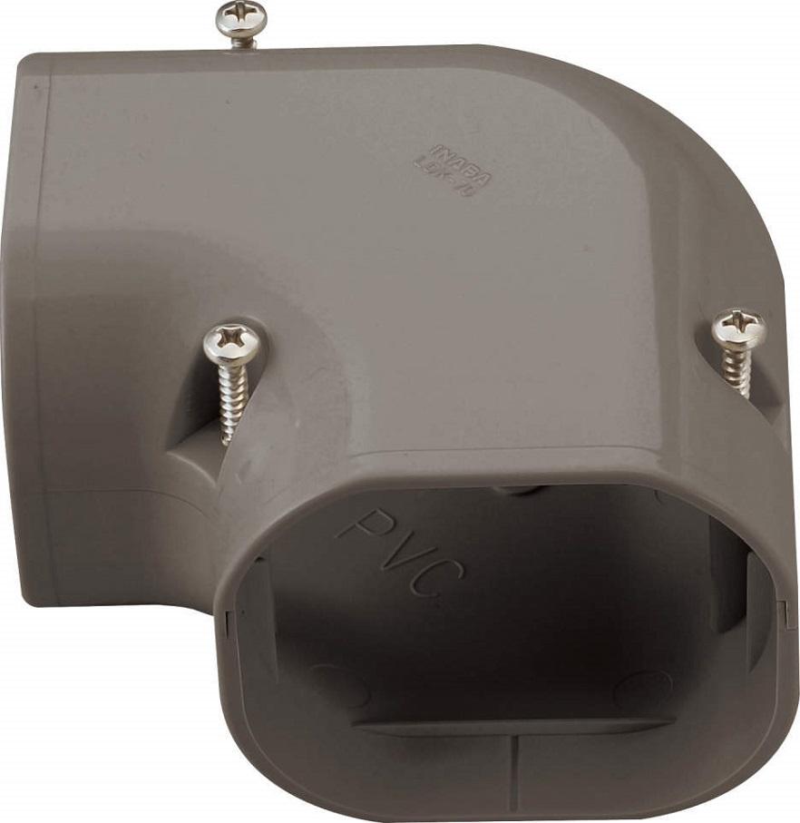 因幡電工LDダクト コーナー平面90゜ 90LDK-90-Bケース販売10個入り