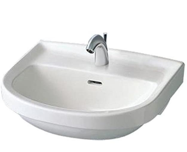 予約 お取り寄せ商品 壁掛小型洗面器 穴1 訳あり商品 L210C#NW1