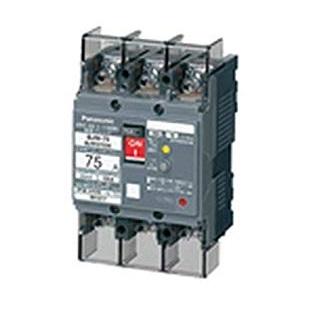 パナソニック漏電ブレーカ(モータ保護兼用) BJW型3P75ABJW3753K