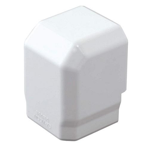 お取り寄せ商品 因幡電工MD立面アウトミニコーナー90゜ケース販売20個入りMCOM-75-W 限定特価 数量限定アウトレット最安価格