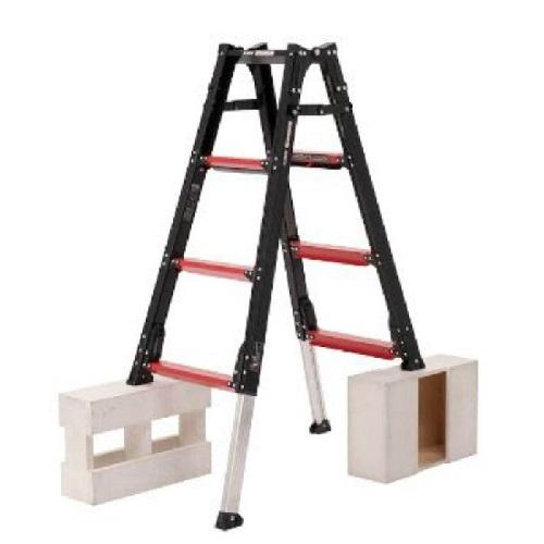 お取り寄せ商品 伸縮脚付はしご兼用脚立 GAUDIGUD-150