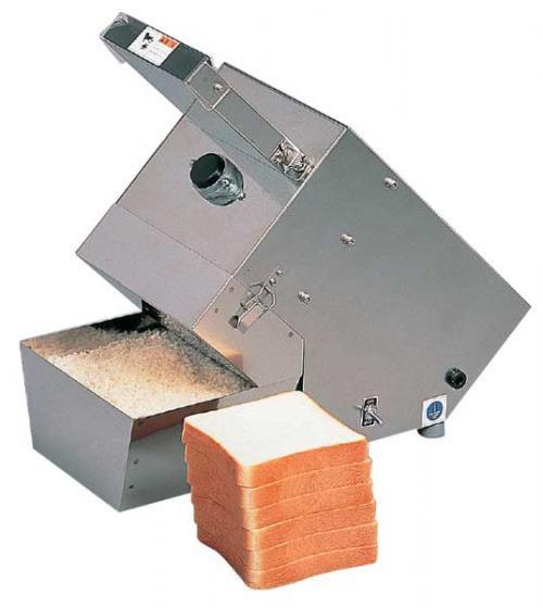 生パン粉機 ハクラ精機(株) アルファパンコ PT300 (AP-30) 生パン粉製造機 + アミ目9mm + アミ目12mm