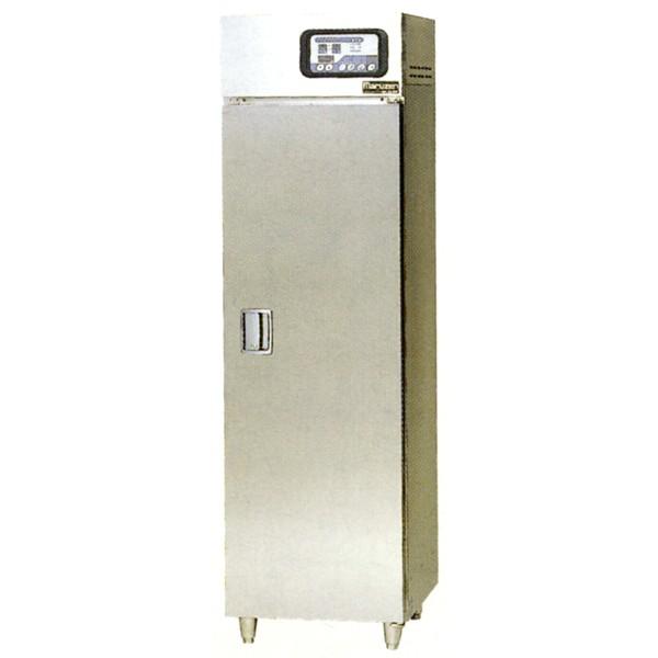 マルゼン 食器消毒保管庫(電気式) 高出力タイプ MSH5-11HSE-W 奥行1列・片面扉 W540×D530×H1850 食器カゴ付 2点感知式センサー仕様