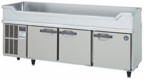 ホシザキ コールドテーブル 冷蔵庫 RW-180SNC-R 舟形シンク付 右ユニット仕様