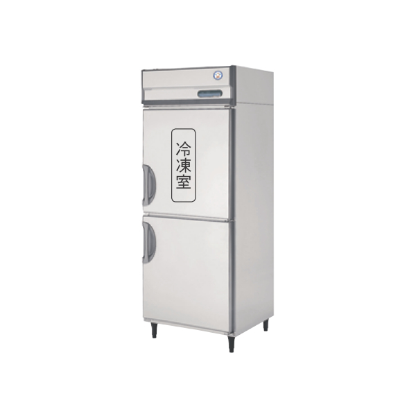 フクシマ 冷凍冷蔵庫 URN-081PM6 縦型 福島工業