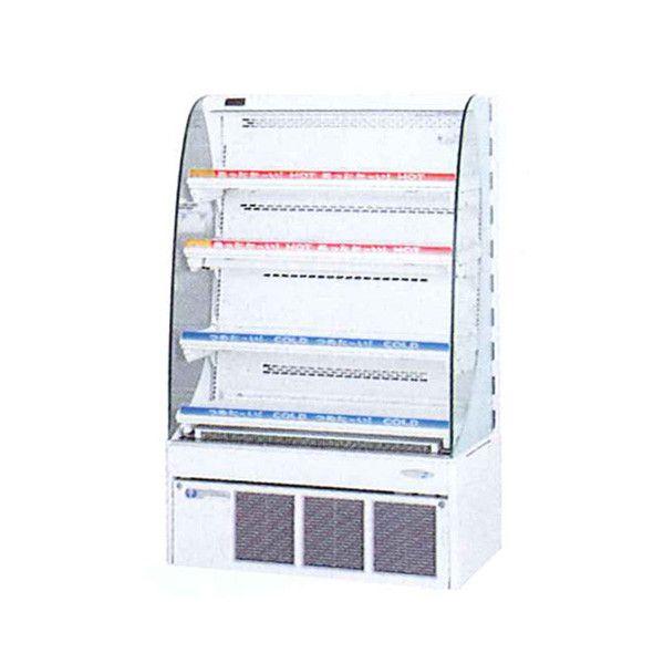 フクシマ コンパクト ドリンクショーケース MDT-34TDSOR 冷凍機内蔵型 MDTシリーズ HOT&COLD 福島工業