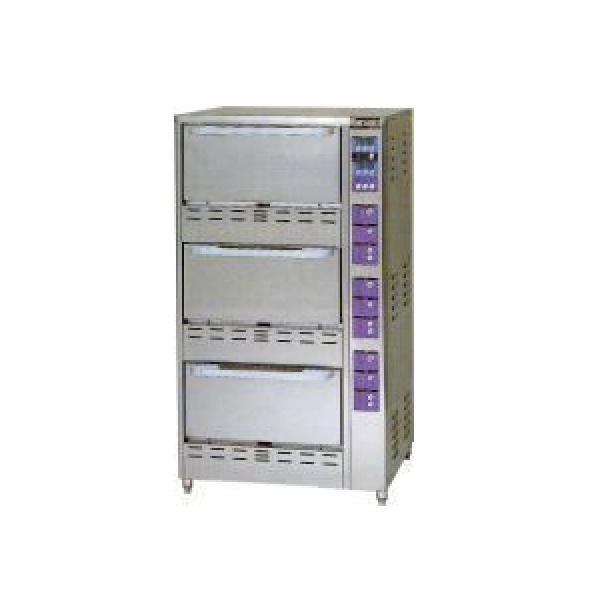 マルゼン ガス立体自動炊飯器 MRC-T3D (MRC-T3C) LPガス仕様 W750×D700×H1350