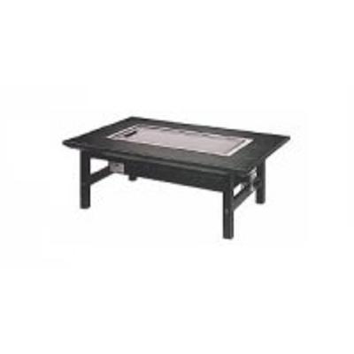 イトキン IKK 電気鉄板焼テーブル(カーボンランプヒーター) IC-111KZ 和卓タイプ 1500・800・350(mm)