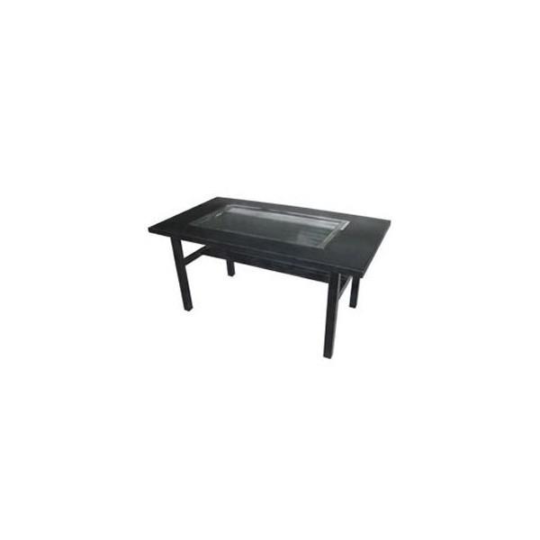 イトキン IKK お好み焼きテーブル(木製脚) IM-380HM 都市ガス(13A)仕様 800・750・700(mm)