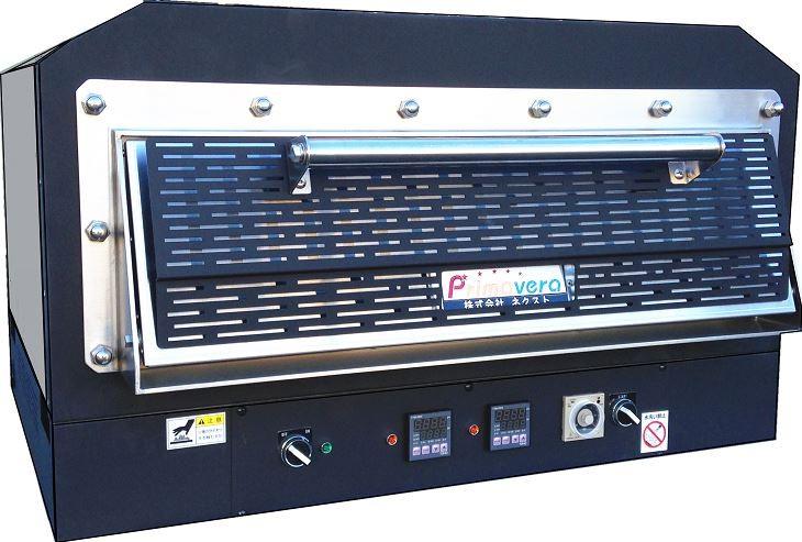 ネクスト(株) ピザオーブン 中型 PZT-500 卓上型 電気式 W800・D690・H470 500℃対応