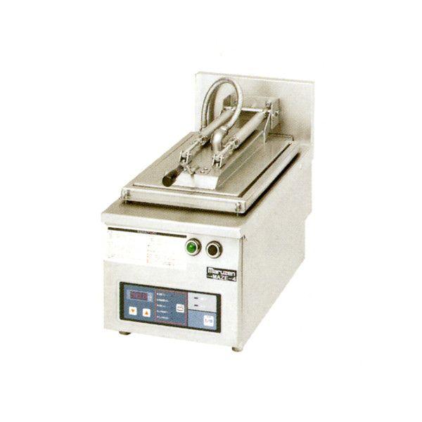 マルゼン 電気自動餃子焼器 MAZE-6S W410×D600×H285×B150 フタ取り外しタイプ