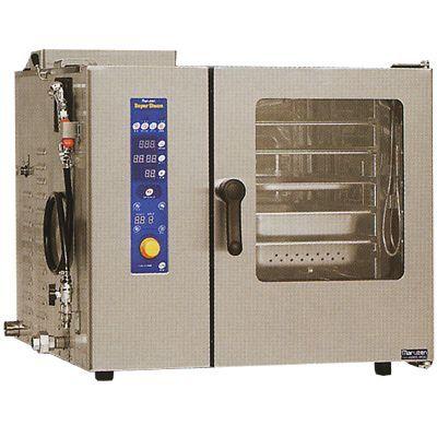 マルゼン ガス式スチームコンベクションオーブン SSCG-05SCNU 都市ガス(13A)仕様 (専用架台無) スチコン