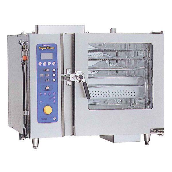 マルゼン ガス式スチームコンベクションオーブン SSCG-C06RSCNU W1060・D750・H840 都市ガス仕様 専用架台なし