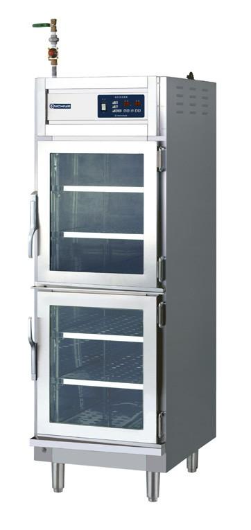 マルゼン 湿温蔵庫 電気式 ホテルパン専用タイプ MEHX-077GWPC H750・D750・H1800(mm) 片面扉