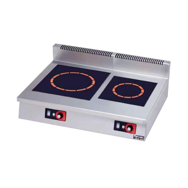 マルゼン電磁調理器IHクリーンコンロ卓上型(単機能2kWシリーズ)MIH-K62C耐衝撃プレート