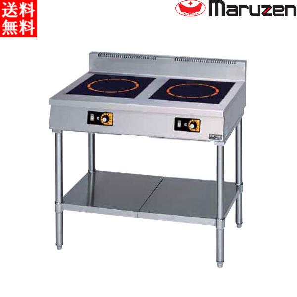 マルゼン 電磁調理器 MIT-KP33B IHクリーンテーブル 耐衝撃プレート 単機能低価格シリーズ