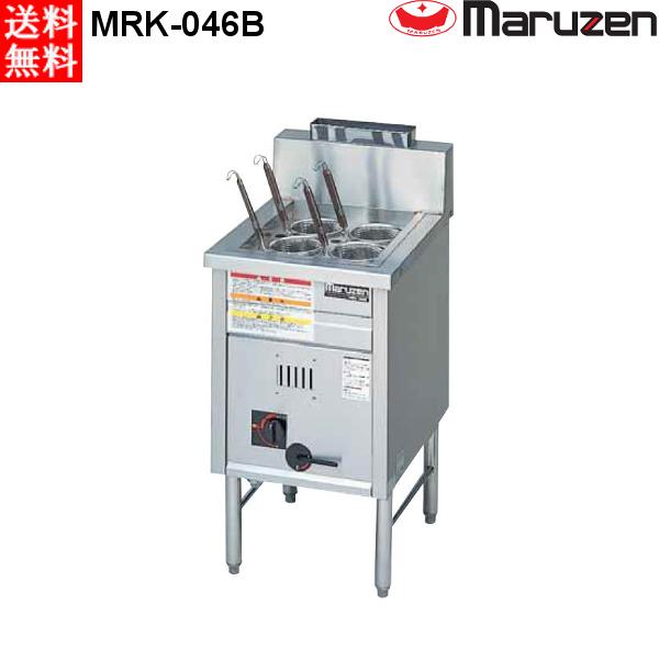 マルゼン ガス式 1槽式 角槽型ラーメン釜/ゆで麺器 MRK-046B LPガス