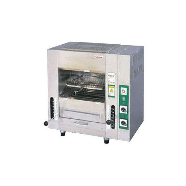 新品税送料込マルゼン電気両面式焼物器TGW-4W735×D480×H765