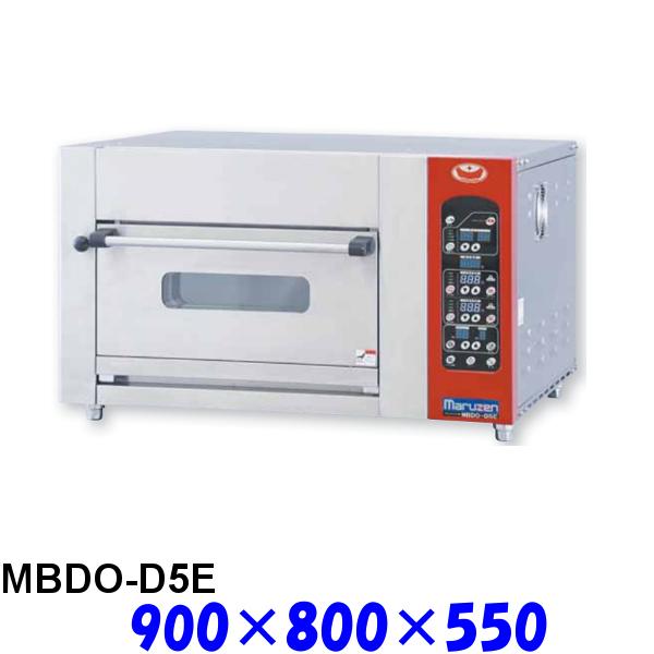 フジサワ・マルゼン ベイカーシェフ ミニ・デッキオーブン MBDO-D5E デラックスタイプ (炉床鉄板,加湿装置あり)