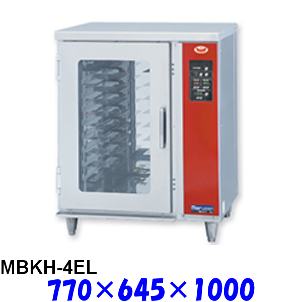 フジサワ・マルゼン ベーカリーコンベクションオーブン MBCO-4シリーズ専用 架台ホイロ MBKH-4EL 逆扉仕様 受注生産品