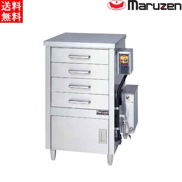マルゼン 電気蒸し器 ドロワータイプ(電気式) MUDE-J14 H750・D710・H1095(mm)軟水器無 一層式 引出4個