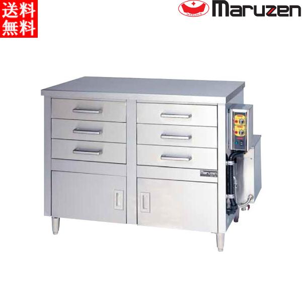 マルゼン 電気蒸し器 ドロワータイプ(電気式) MUDE-23 H1330・D710・H965(mm)軟水器無 二層式 引出6個