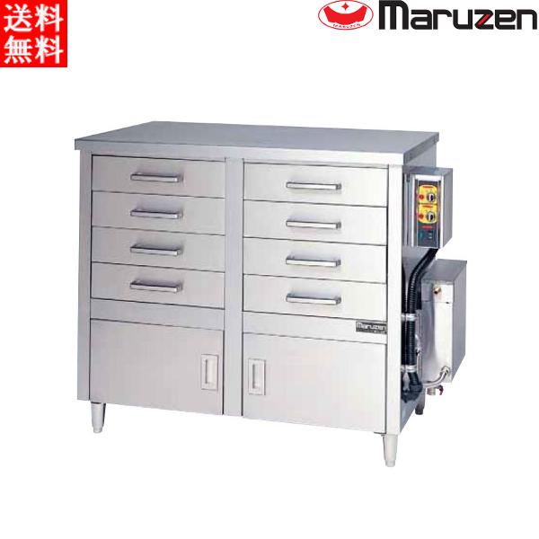 マルゼン 電気蒸し器 ドロワータイプ(電気式) MUDE-24 H1330・D710・H1095(mm)軟水器無 二層式 引出8個