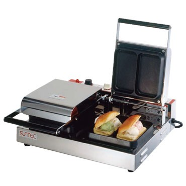 サンテック アイスサンドメーカー SVO-2 1連式 単相100V