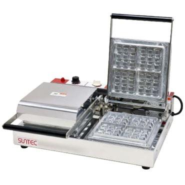 サンテック ベルジャン ワッフルベーカー SBW-200 (3/4) 2連式 三相200V 受注生産