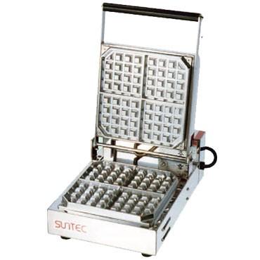 サンテック ベルジャン ワッフルベーカー SBW-100-4 1連式 単相200V 受注生産