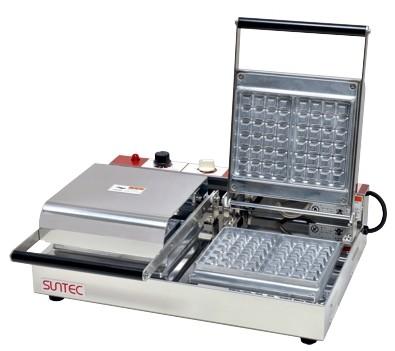 サンテック ベルジャン ワッフルベーカー SBW-200 角型 2連式 三相200V 受注生産