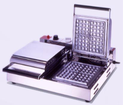 サンテック ワッフルベーカー SB-20 角型 2連式 単相100V