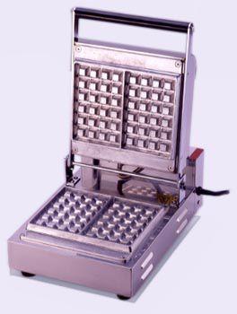 サンテック ベルジャン ワッフルベーカー SBW-100 角型 1連式 単相100V