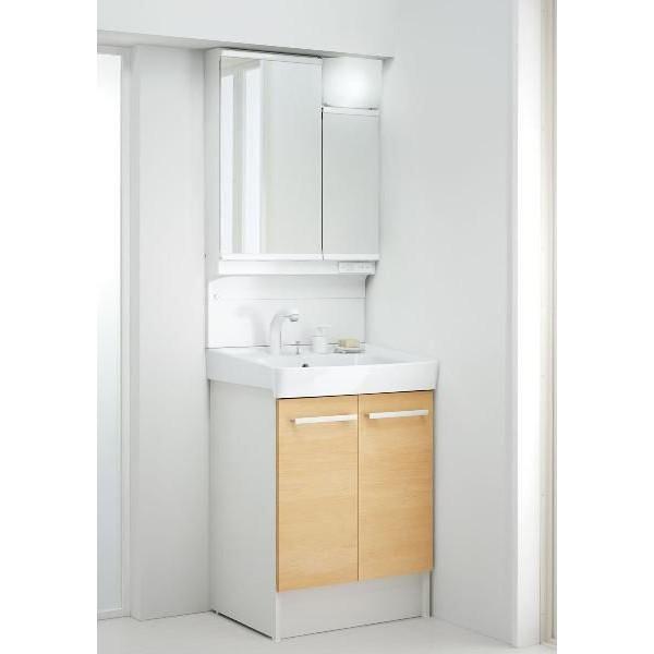 INAX LIXIL 洗面化粧台×ミラーキャビネットセット オフト 間口600mm FTVN-605SY1-W/VP1P MAJX2-602TZJU ホワイト