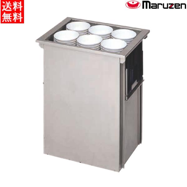 マルゼン 食器ディスペンサー 組み込みタイプ(角型・丸型) MSD-K4838 W570×D430×H680