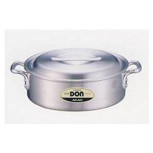 アカオ DON 外輪鍋 蓋付き 42cm