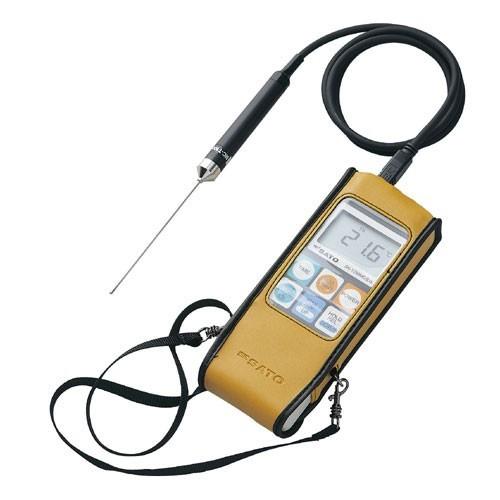 メモリ機能付防水型 デジタル温度計 SK-1260 標準センサー SK-S100K付