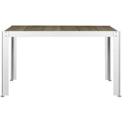 【送料無料】【代引不可】【メーカー直送】クッキンガーデン T1208 長方形テーブル(2~4人用)