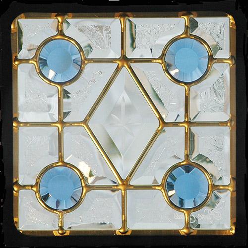 【送料無料】【代引不可】【メーカー直送】ピュアグラス Dサイズ 200角 SH-D01