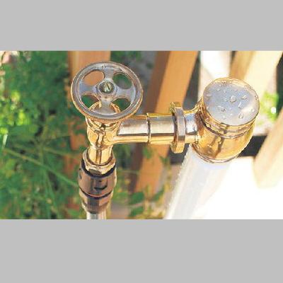 【送料無料】【代引不可】【メーカー直送】エッセンス ガーデン水栓柱一口用ホース栓(ホース接続蛇口)