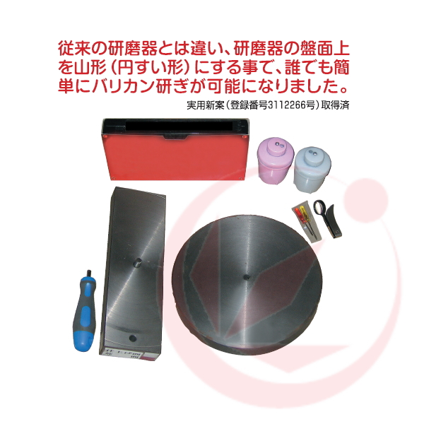 【送料無料】SK式手動バリカン研磨器「ばり研ぎ清吉」
