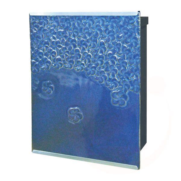 【送料無料】【代引不可】【メーカー直送】JENGGALA POST ジェンガラポスト(ブルー)壁掛けポスト 左勝手