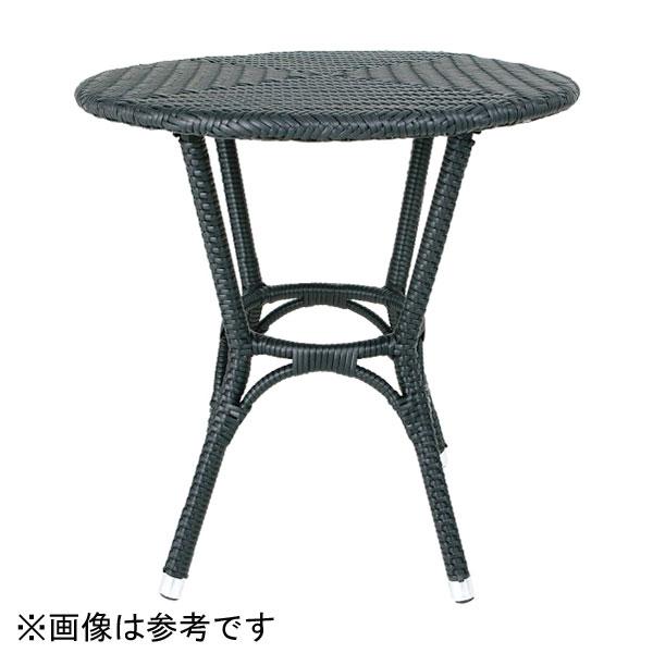 【代引不可】【メーカー直送】ガーデンファニチャー ウィーヴィングテーブル (ブラウン) DT3-101854BR