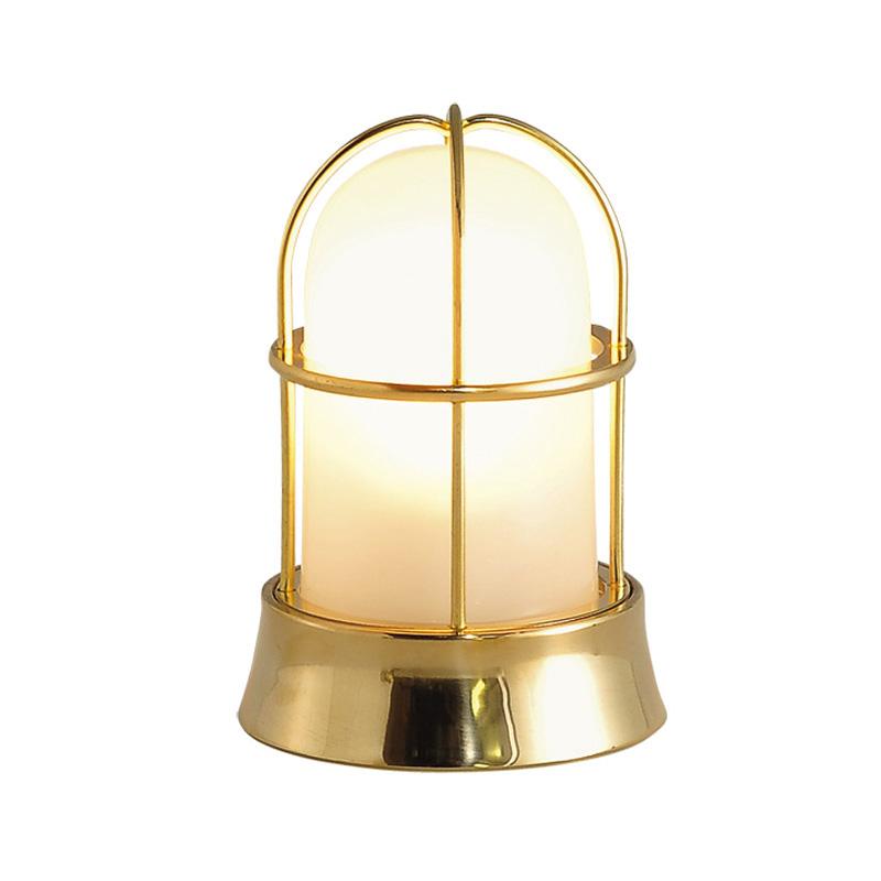 【送料無料】【代引不可】【メーカー直送】真鍮製ガーデンライト BH1000 くもりガラス製×【カラー:磨き】【LED使用】