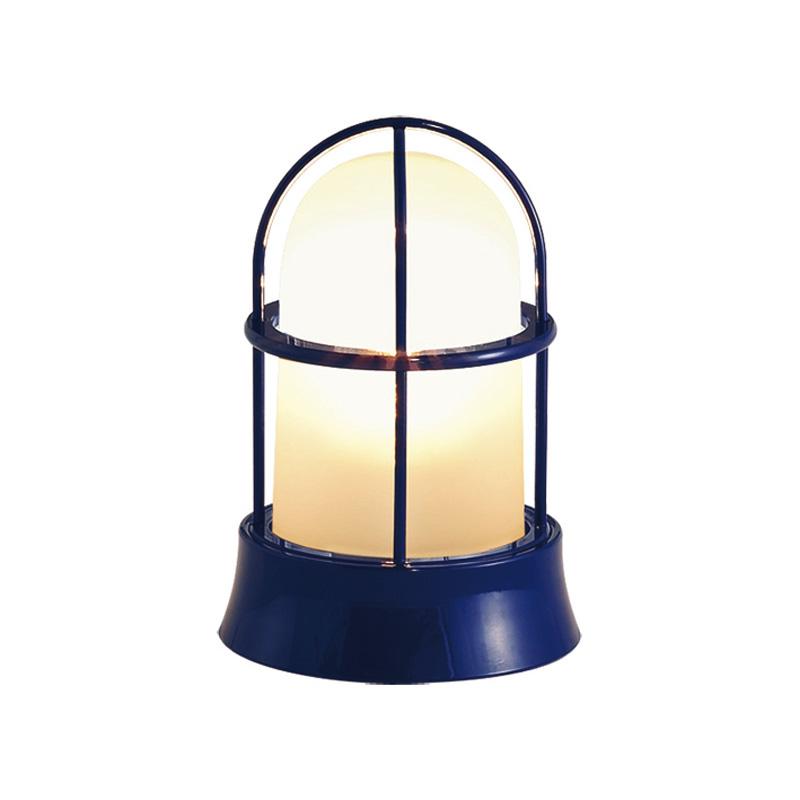 【送料無料】【代引不可】【メーカー直送】真鍮製ガーデンライト BH1000 くもりガラス製×【カラー:紺色塗装】【LED使用】