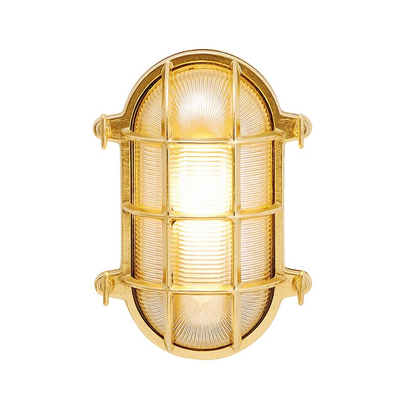 【送料無料】【代引不可】【メーカー直送】真鍮製ポーチライト BH2035 クリアーガラス製×【カラー:クリアー】【LED使用】