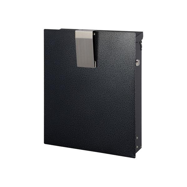 【代引不可】【メーカー直送】ポスト 壁掛けポスト ノイエファイン ハンマートーン (メタリックブラック) GM1-NF602